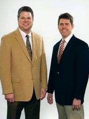 Rick Sain, left, and Shane Reeves were co-owners of Reeves-Sain Family of Medical Services.