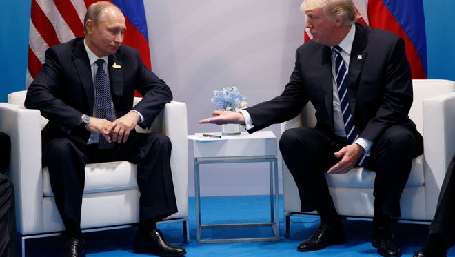 President Trump and President Vladimir Putin.