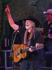 Willie Nelson performs in Apple Valley, Minn., at the