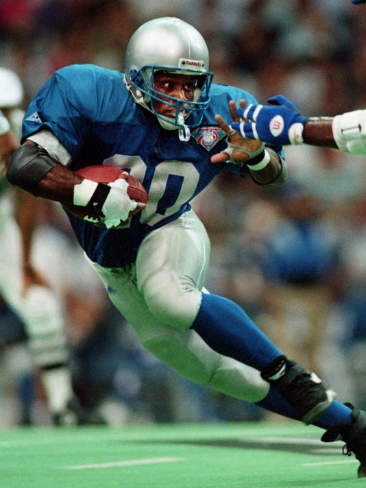 COWBOYS LIONS Barry Sanders