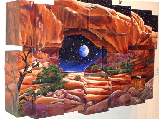 """Blue Moon"" by Lois Duffy"