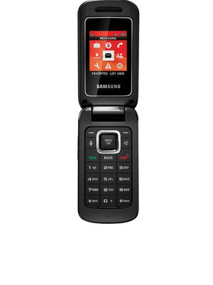 Samsung: Those who prefer a smaller and easier to use flip phone might consider this $20 Samsung Entro.