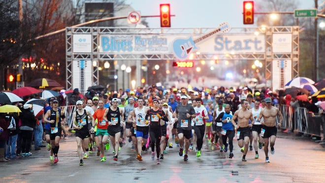 The 13th annual Mississippi Blues Marathon kicks off Saturday at 7 a.m.