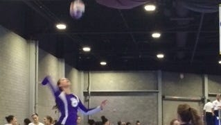 Enka senior SallyAnne Johnson is part of the Biltmore Volleyball Academy program.