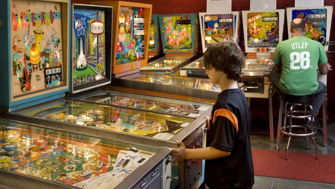 The Silverball Museum Arcade is open all year on the boardwalk of Asbury Park. NJ Press Media