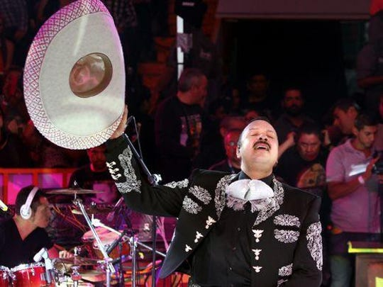 Pepe Aguilar comes April 23 to the Save Mart Center on the campus of Fresno State.