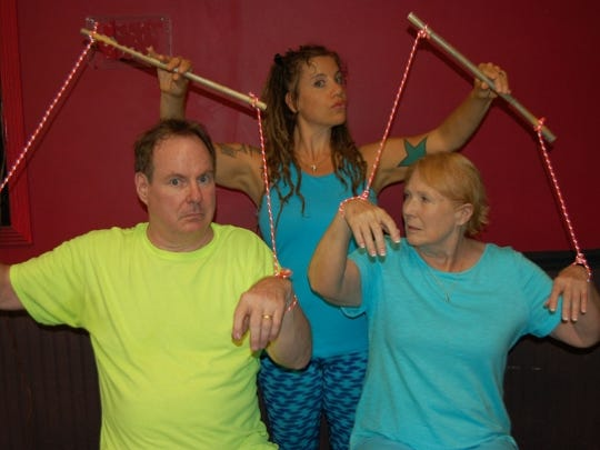"Who's really pulling the strings? The ACT Studio Theatre presents ""A Body of Water"" Oct. 7-22."