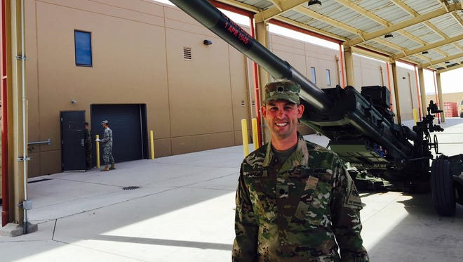 Lt. Col. John W. Sandor is the commander of 2nd Battalion, 3rd Field Artillery Regiment, a field artillery battalion equipped with M777 howitzers.