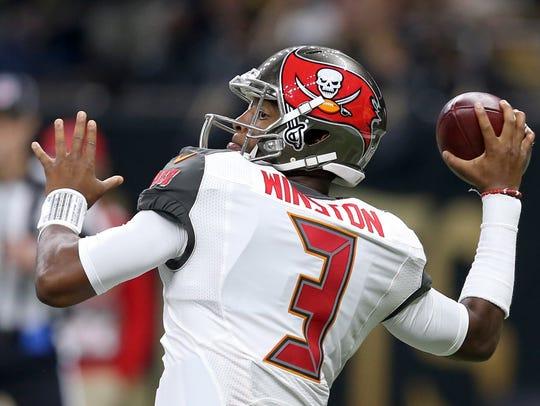 Former Florida State quarterback Jameis Winston has