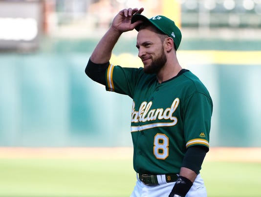 MLB: Cleveland Indians at Oakland Athletics