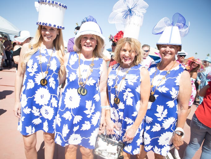 Horse racing fans packed Turf Paradise to catch The