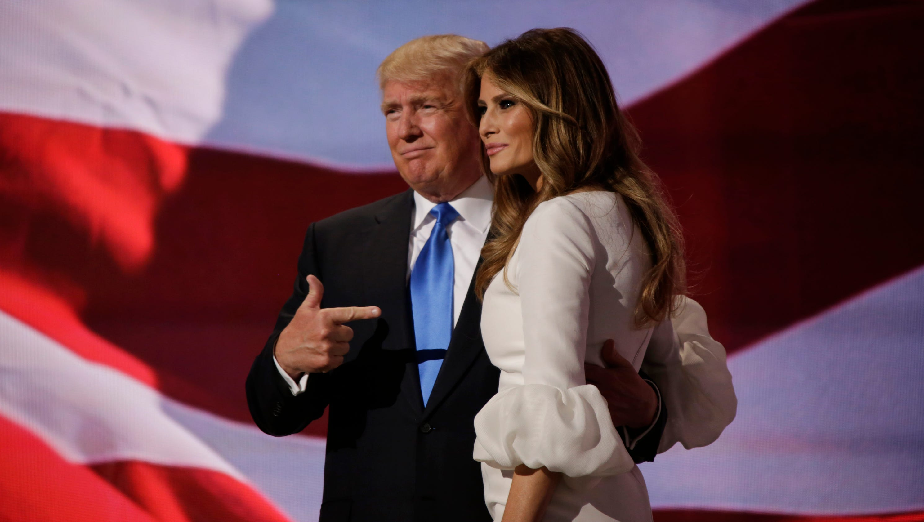 Trump introduces wife Melania to national audience ...