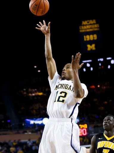 Michigan Wolverines guard Muhammad-Ali Abdur-Rahkman