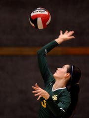 La Reina's Michelle Shaffer will be the best girls volleyball player in the county in 2017.