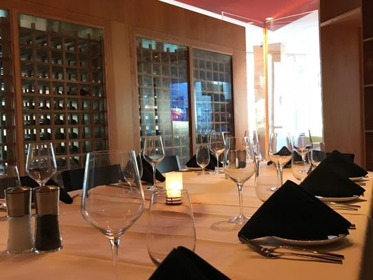 Ursino Steakhouse & Tavern's private dining room can