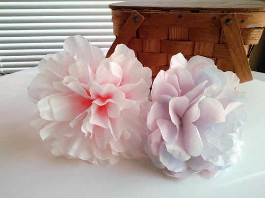 Make these long-lasting paper flowers out of coffee filters.