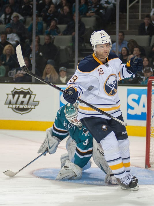 c0bcf263a28 NHL roundup  Sabres upend Sharks in shootout