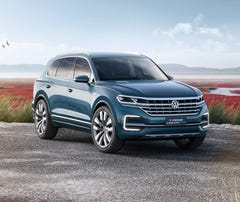 Volkswagen to show plug-in SUV at Beijing auto show
