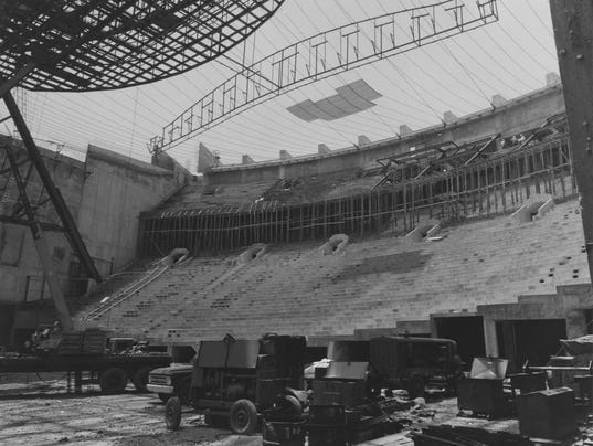 Assembly Hall Bloomington Assembly Hall Construction