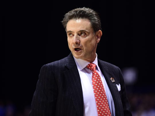Louisville Cardinals head coach Rick Pitino.