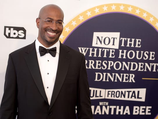 Van Jones, host of  CNN's 'The Messy Truth,' is all