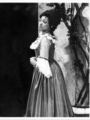 Kathleen Battle as Rosina in the 1976 MOT production