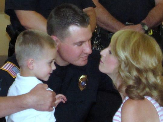 Sgt. Matthew Saunders, of the Elmira Police Department,