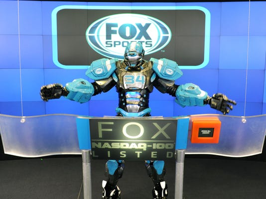 21st Century Fox, Inc And FOX Sports 1 Rings The NASDAQ Stock Market Opening Bell