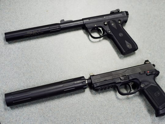Silencers must be bought to fit the specific caliber