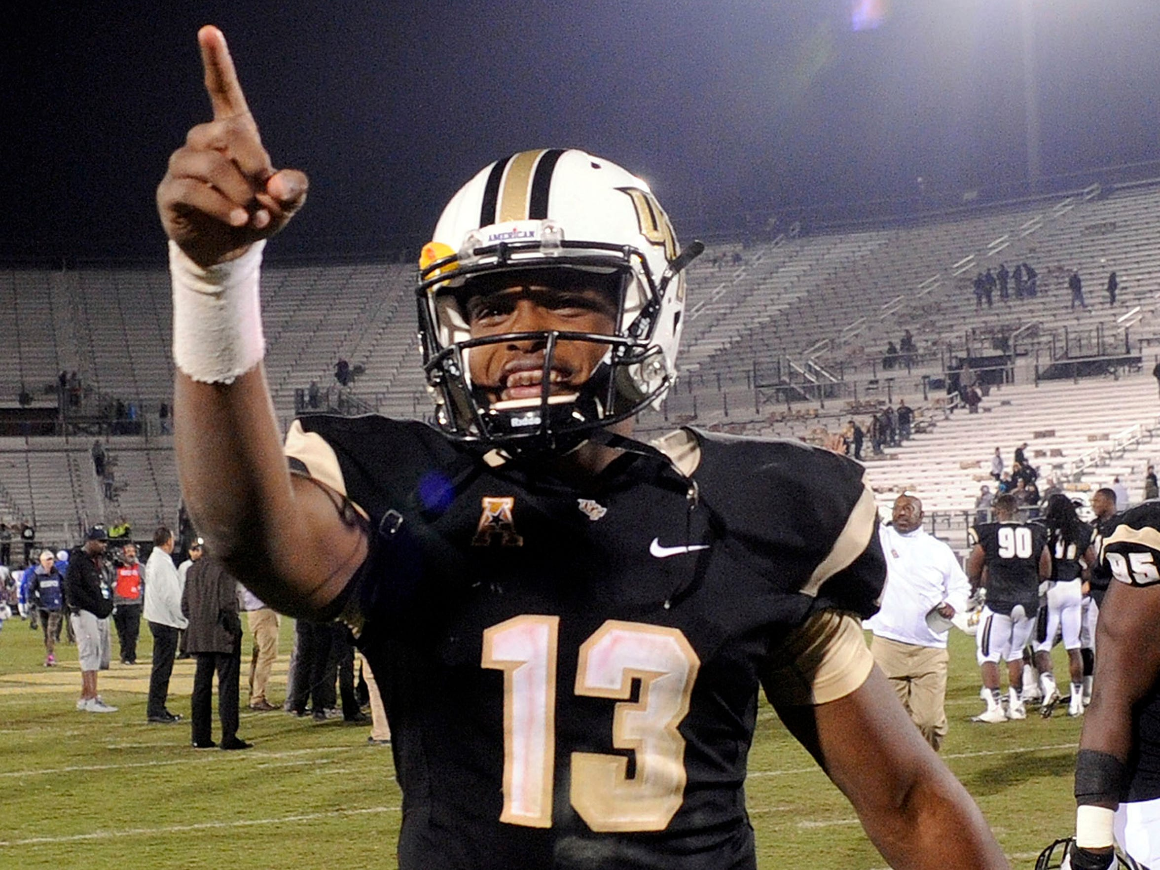 UCF is happy to have Justin Holman back as its starter