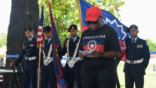 The Guam Black Network hosted its Juneteenth Texan BBQ Celebration commemorating the emancipation of slaves in Texas on June 19, 1865 at Gov. Joseph FLores Beach Park on June 17, 2017.