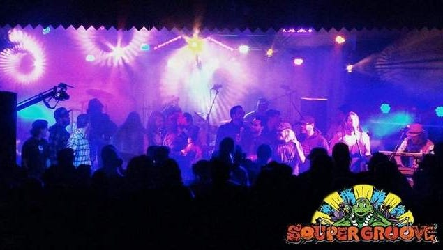 Turtle Soup and friends at Souper Groove 3 Music Festival - September 27th, 2014 in Freehold, NJ
