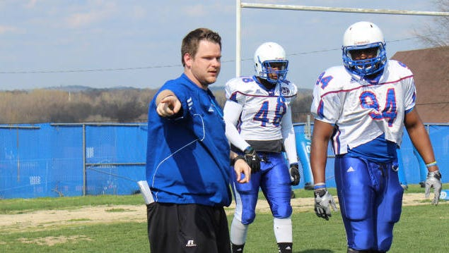Nick Davison is TSU's new defensive ends coach and recruiting coordinator.