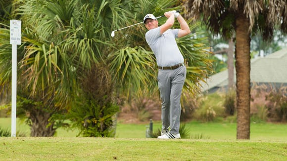 Defending champion Grant Sturgeon opened with a 2-under