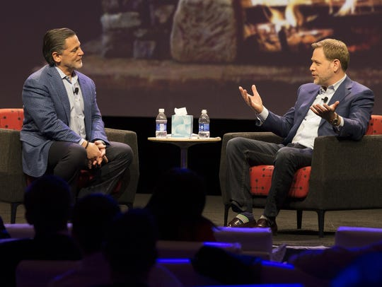 Quicken Loans founder Dan Gilbert and CEO Jay Farner.