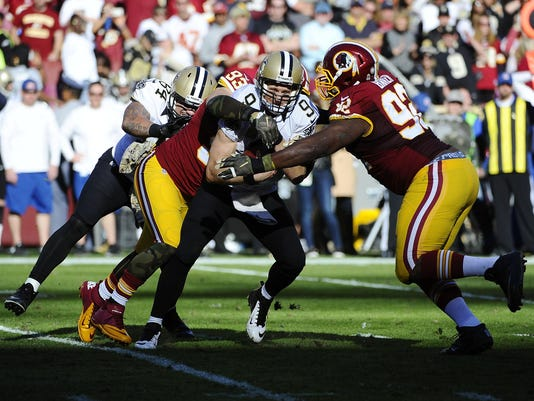 NFL: New Orleans Saints at Washington Redskins