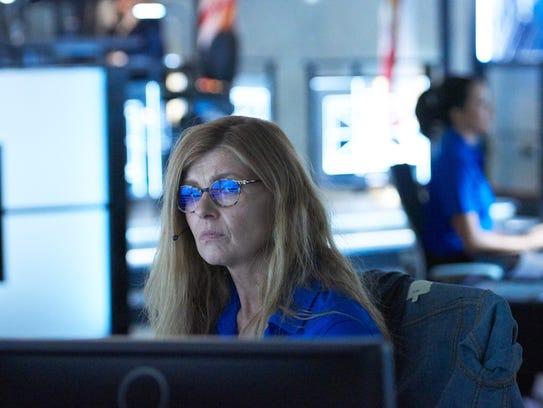 Connie Britton as Abby Clark on '9-1-1.'