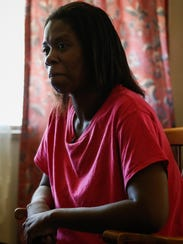 Iris Jennings, of Avondale, a mother of three, is one