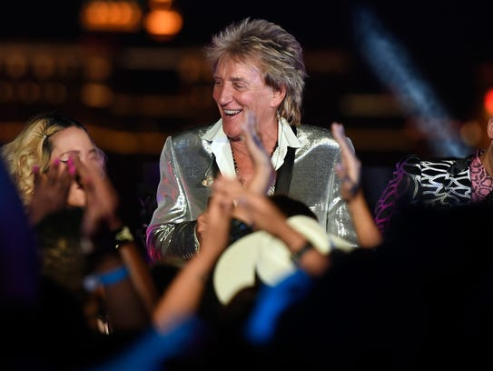 Rod Stewart will perform Aug. 18 at Ruoff Home Mortgage