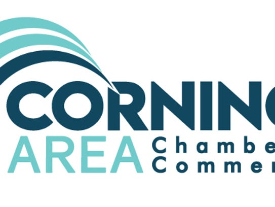 The Corning Area Chamber of Commerce has a new logo