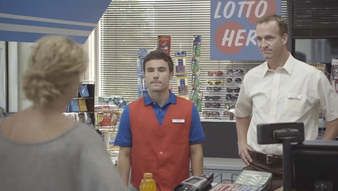 Denver Broncos QB Peyton Manning's latest Gaotrade commercials continue to showcase Manning's humor.