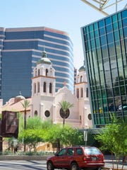 St. Mary's Basilica in Phoenix.