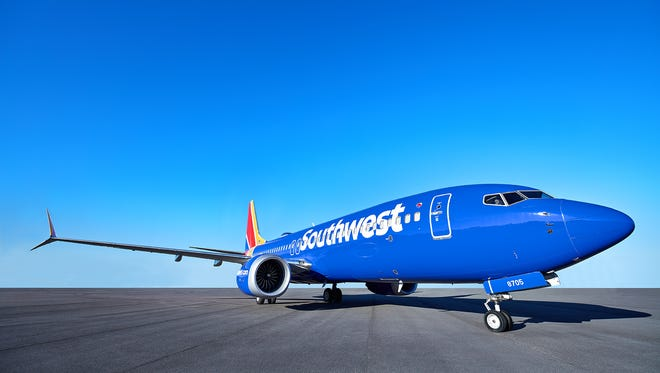 A Southwest Airlines Boeing 737 Max aircraft is seen in this photo provided by the carrier.