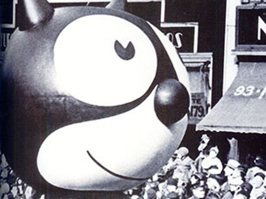 Felix the Cat was the first balloon, debuting in 1927.