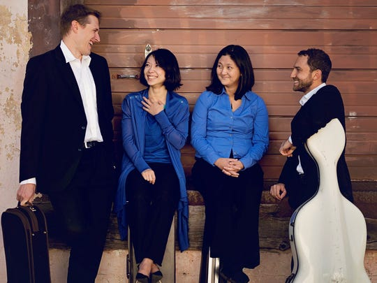 "Delgani String Quartet wraps its Salem concert season with ""Man of Words"" 3 p.m. Sunday, April 30, at Prince of Peace Episcopal Church. Cost: $10 to $25."