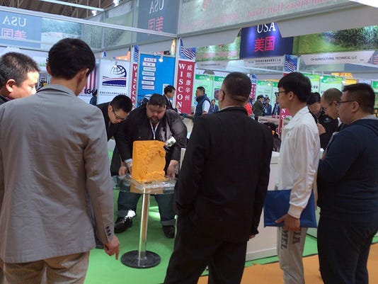 WSF 0512 China dairy expo 1