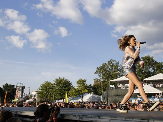 Pop artist Daya performed last summer at Common Ground in Lansing's Lou Adado Park. The new Prime festival will be held there this fall.