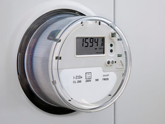 Electric Power Utility Meter