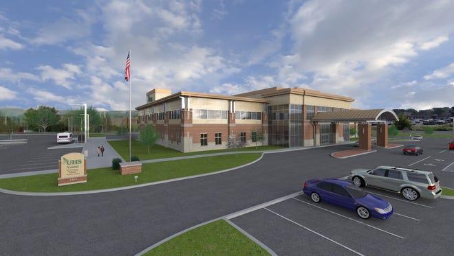 UHS Comprehensive Orthopedic Center in Vestal.