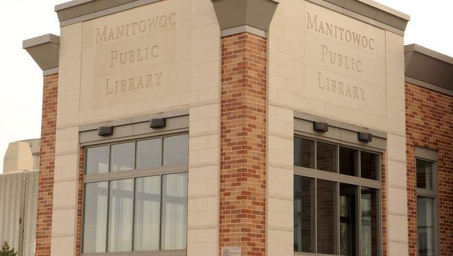 Manitowoc Public Library building exterior.